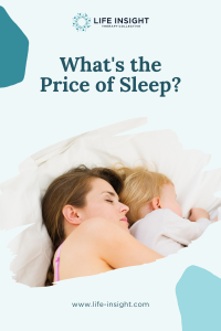 A mother and young child sleeping in bed representing how you can benefit from La Grange mental health services.