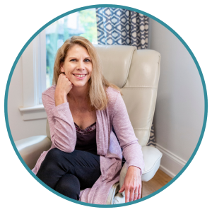 Jennfier Sheriff representing how our Hinsdale therapists can help you with a variety of life issues.