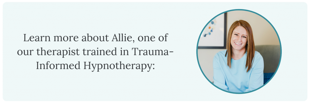 Blurb about our Hinsdale therapist, Allie.