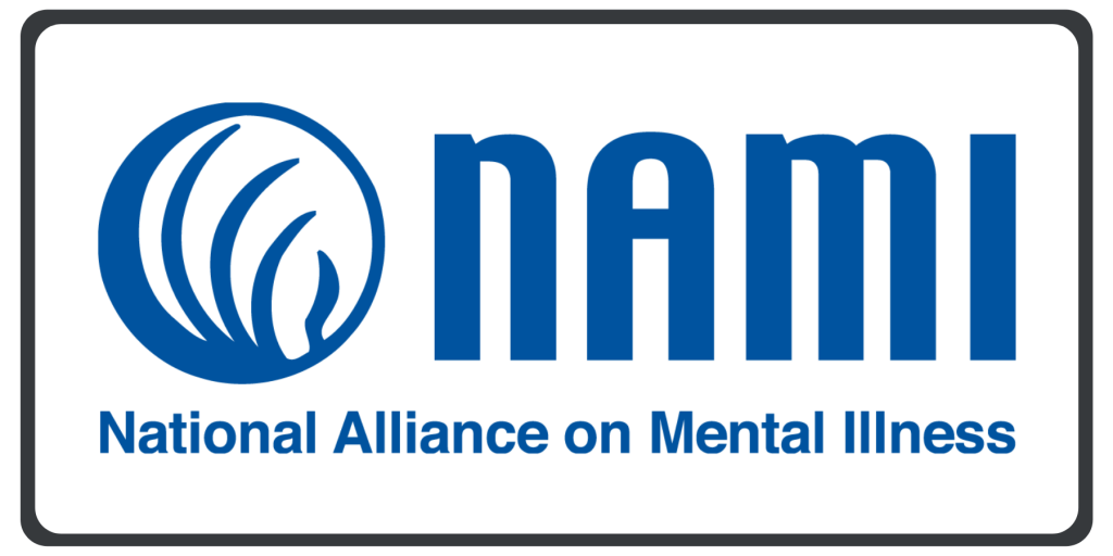 Nami logo to be used for depression therapist Hinsdale.
